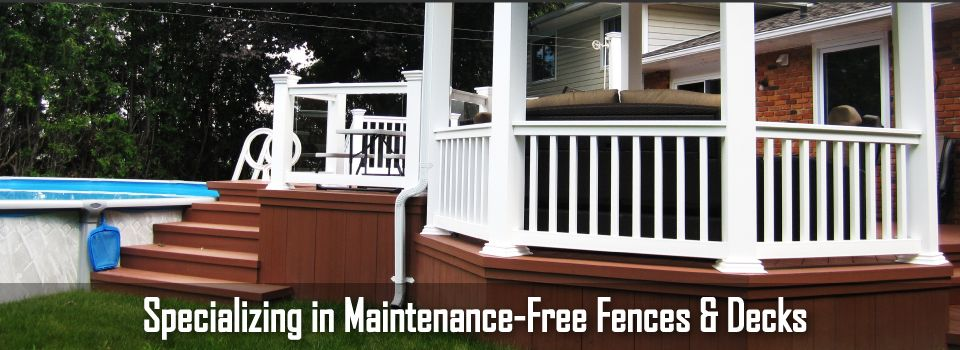 Specializing in Maintenance Free Fences & Decks | Project example